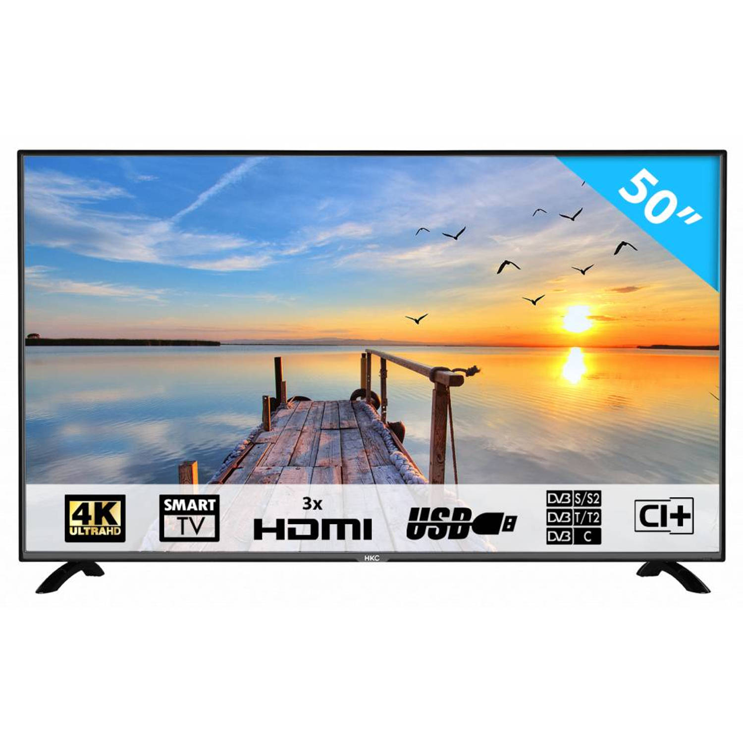 HKC 50F1 50 inch 4K/Ultra HD LED SMART tv