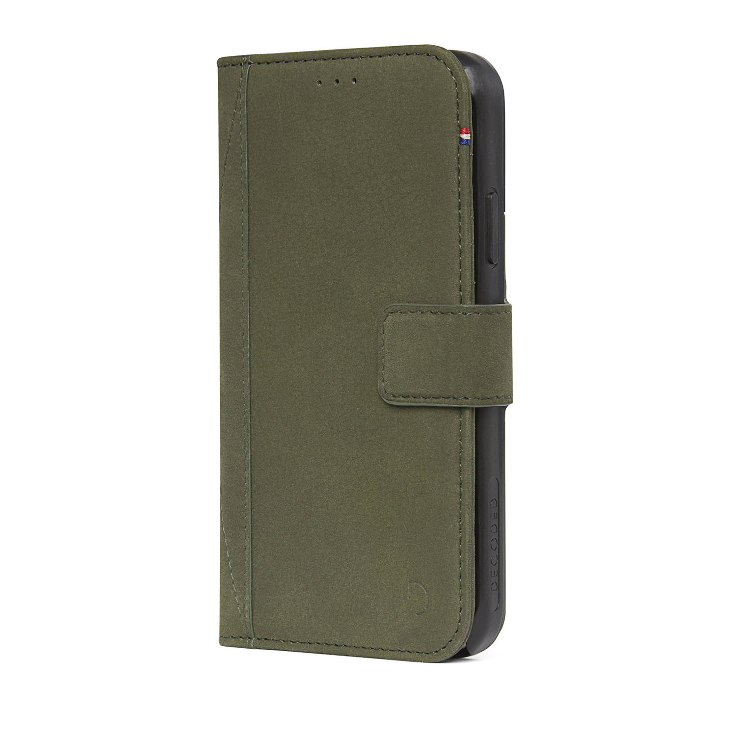 Leather Wallet Case met magneet sluiting voor iPhone X