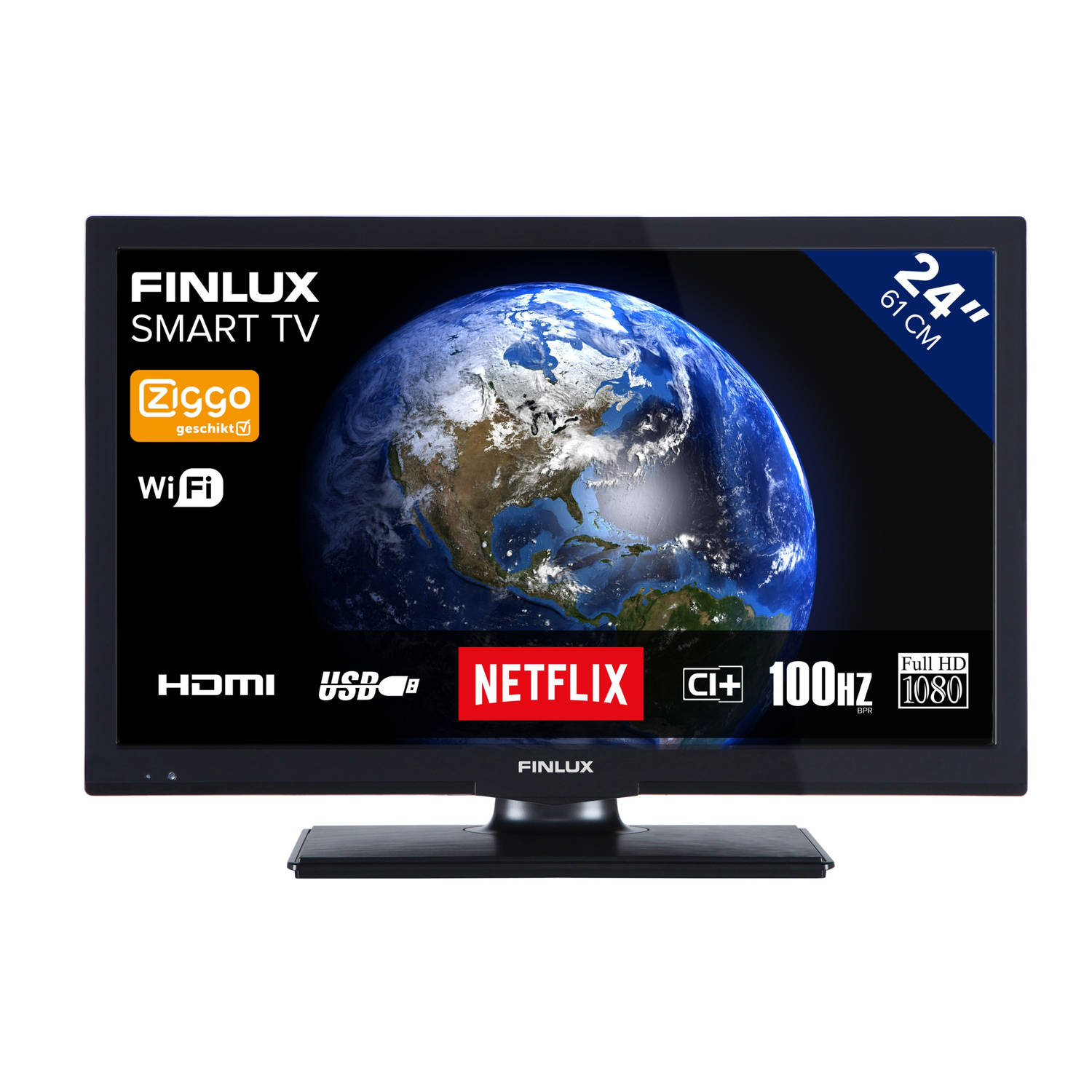 Finlux FL2423SMART TV - HD-Ready 24 inch LED smart televisie