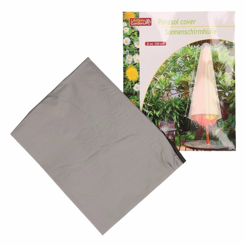 Korting Parasolhoes 120 Cm Grijs Lifetime Garden