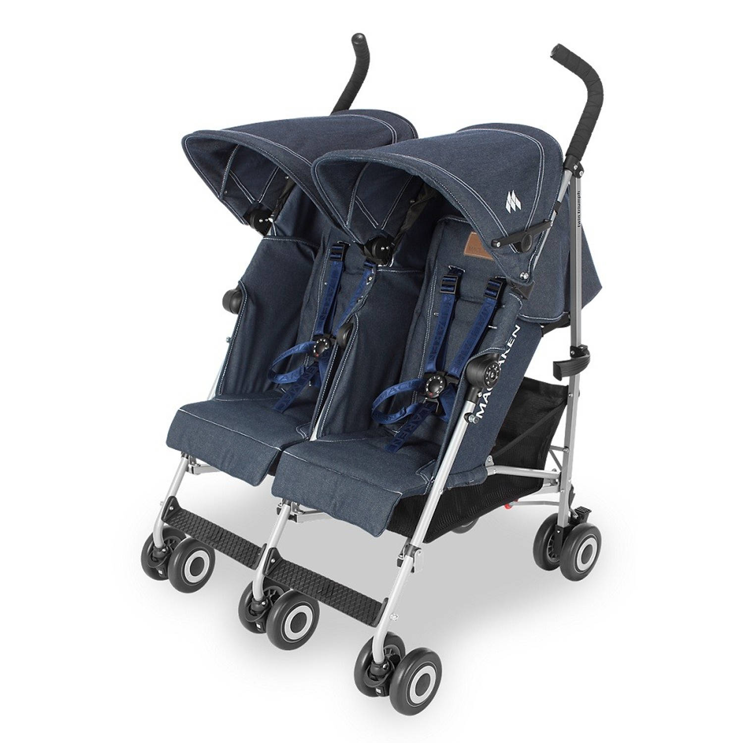 Maclaren Buggy Twin Triumph Denim