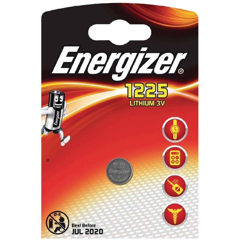 Energizer batterij knoopcel Lithium 3V BR1225 per stuk
