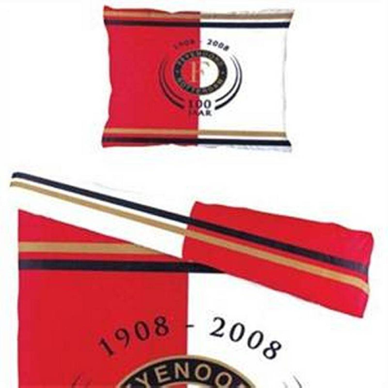 Feyenoord Dekbedovertrek 1 Persoons.Feyenoord Dekbedovertrek 1 Persoons 140x200 220 Cm 1
