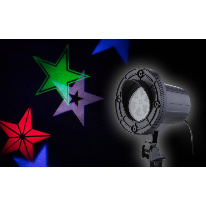 AmazerLaser! Laser spot rode/groene/blauwe/witte sterren