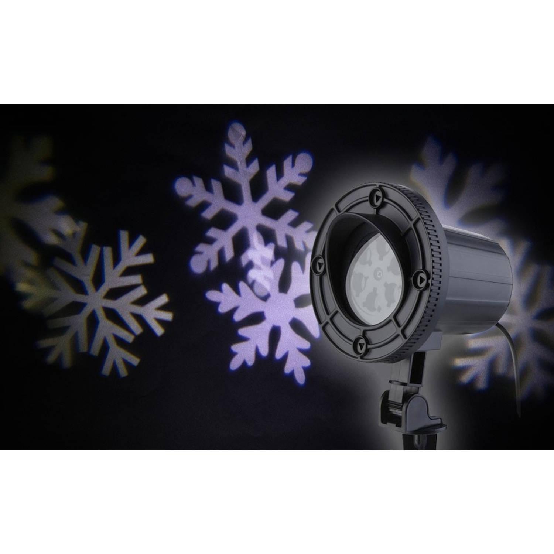 AmazerLaser! Laser spot witte sneeuwvlokken