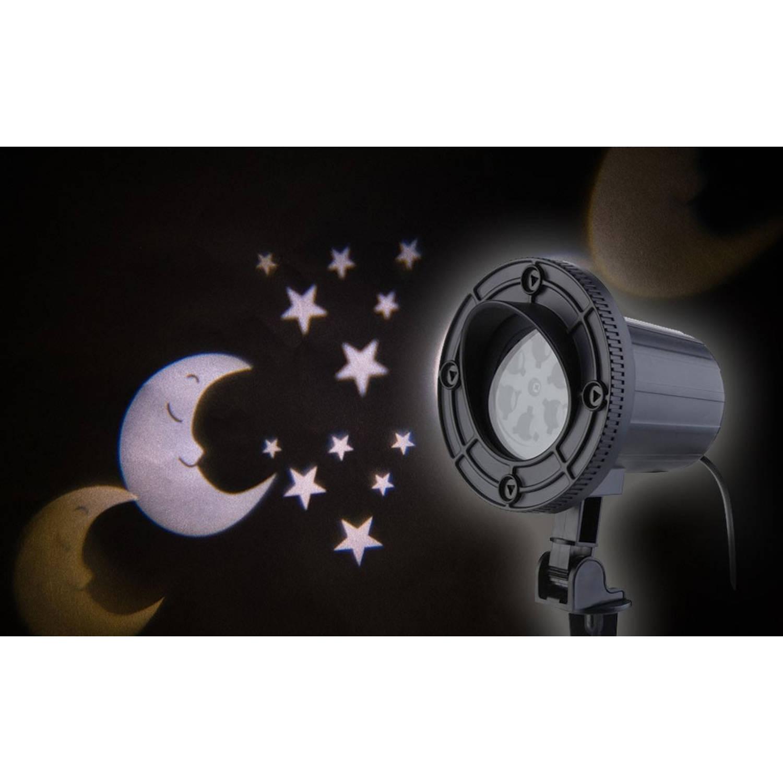 AmazerLaser! Laser spot warm witte maan/sterren