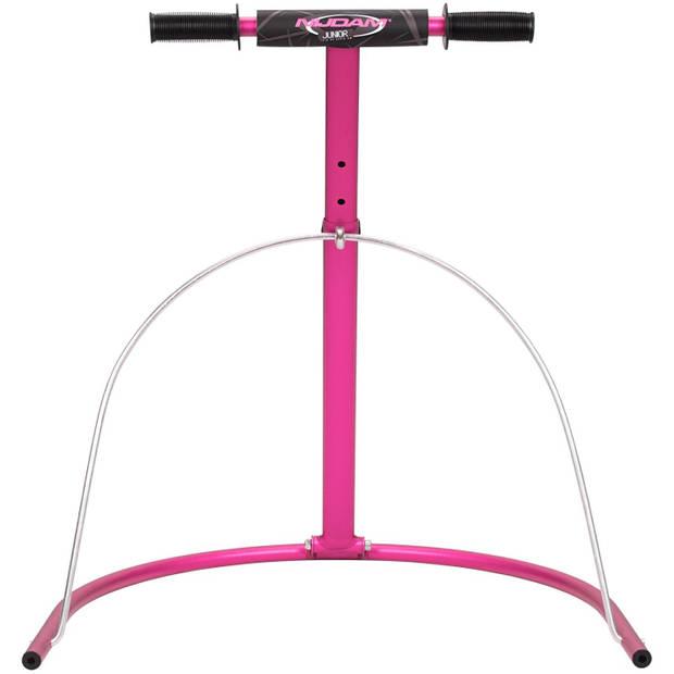 Nijdam Schaatshulp aluminium 60-85 cm roze