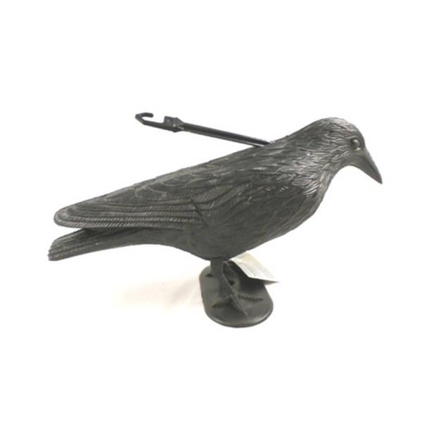 Vogelverschrikker zwarte kraai