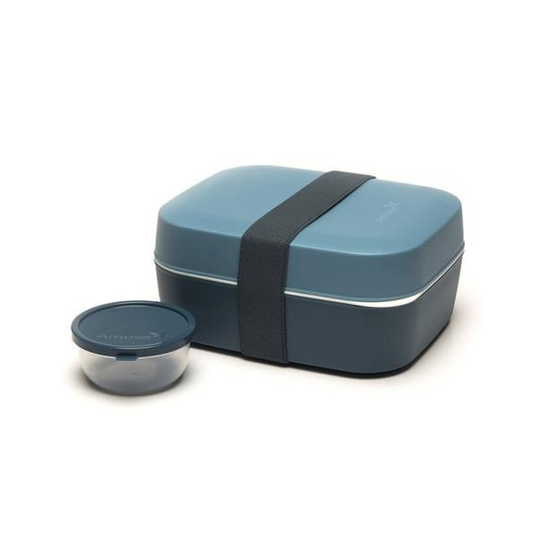 Amuse lunchbox 3-in-1 grijs