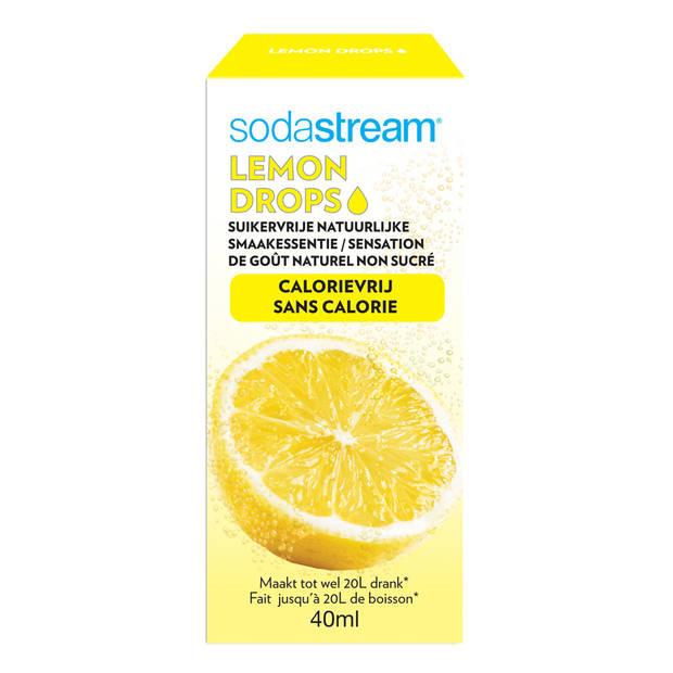 SodaStream Fruit Drops siroop - 40 ml - lemon