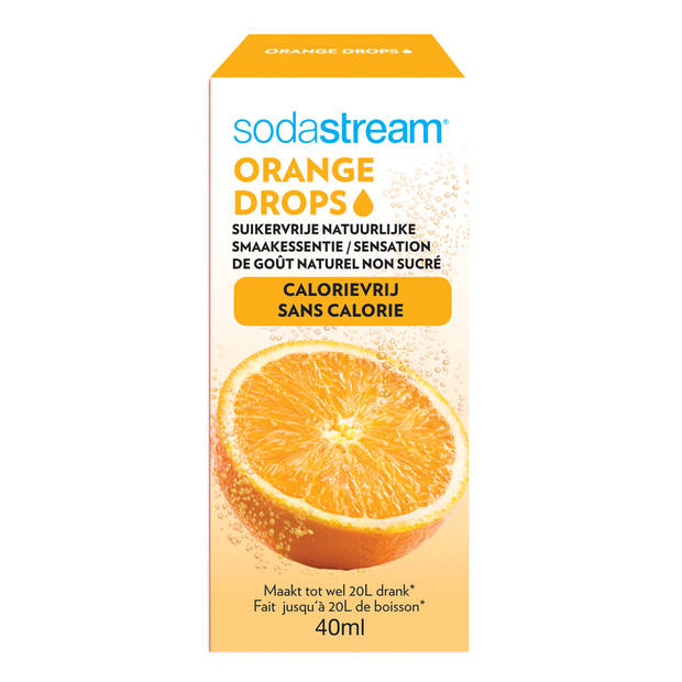 SodaStream Fruit Drops siroop - 40 ml - orange