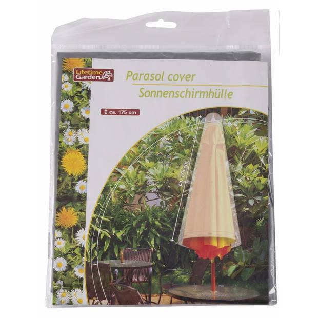 Parasolhoes 175 cm grijs Lifetime Garden