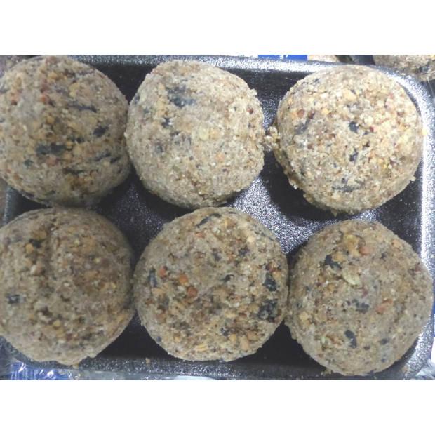 Vogelvoer mezenbollen 6 stuks