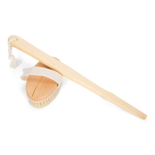 Blokker badborstel hout