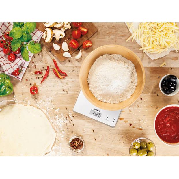 Soehnle Page Compact 300 keukenweegschaal - wit