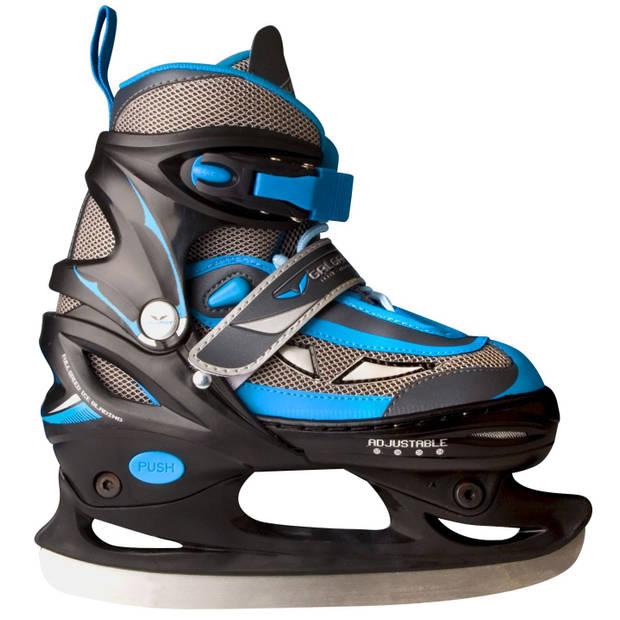Galgary ijshockeyschaats semi-softboot junior blauw maat 30-33