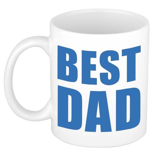 Vaderdag cadeau mok / beker - Best Dad - 300 ml