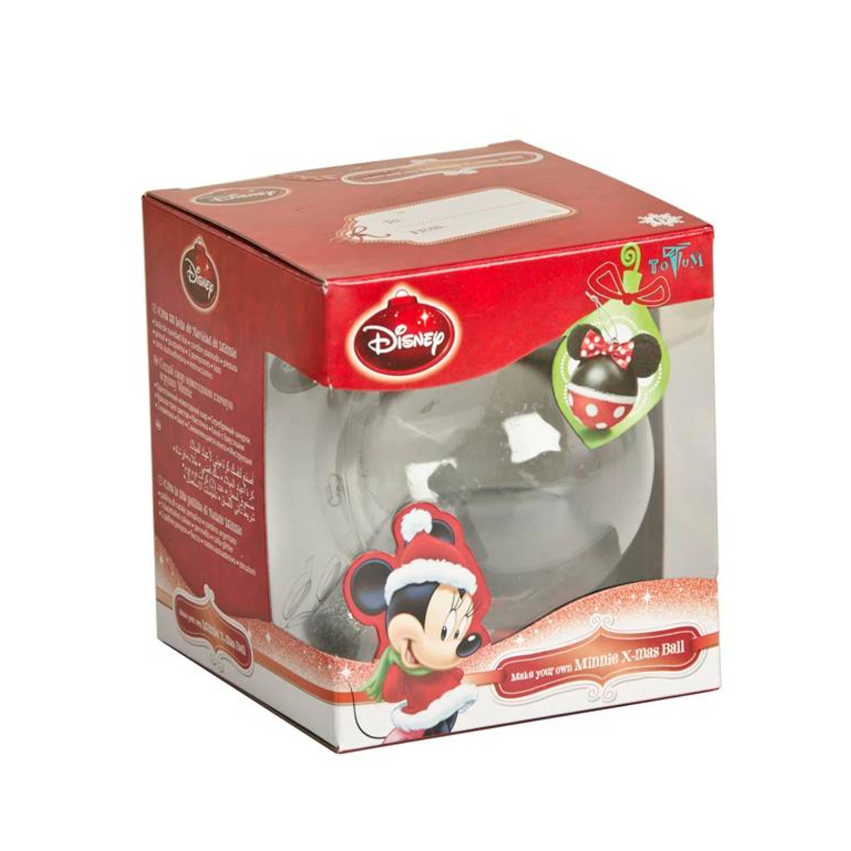 Kerstbal Minnie Mouse Kerstartikelen
