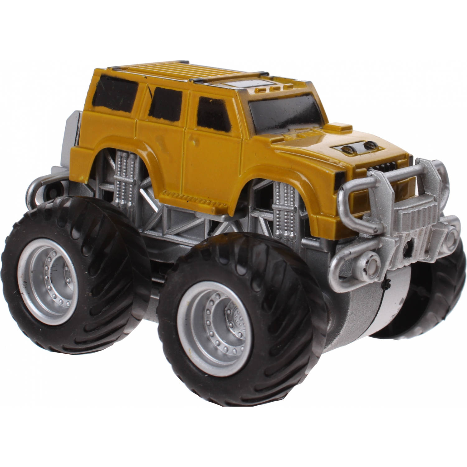 Jonotoys monstertruck Big Foot Drive 8.5 cm geel