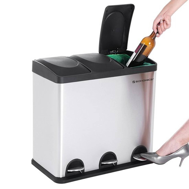 Afval Vuilnis Bak Pedaal Emmer Prullenbak - Trash Can