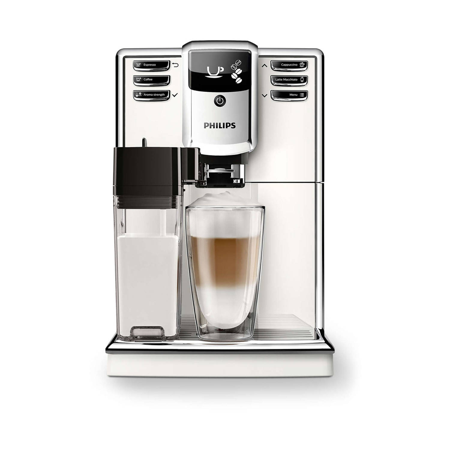 Philips volautomaat espressomachine 5000 series EP5361/10 - wit
