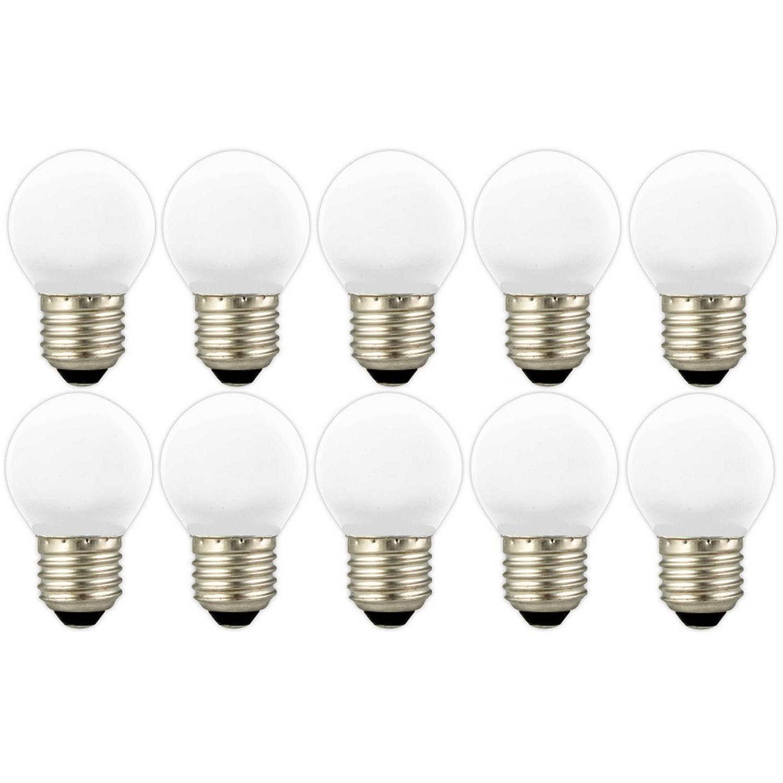 10 stuks - Calex LED kogellamp E27 1W 4000K 12lm 20.000uur