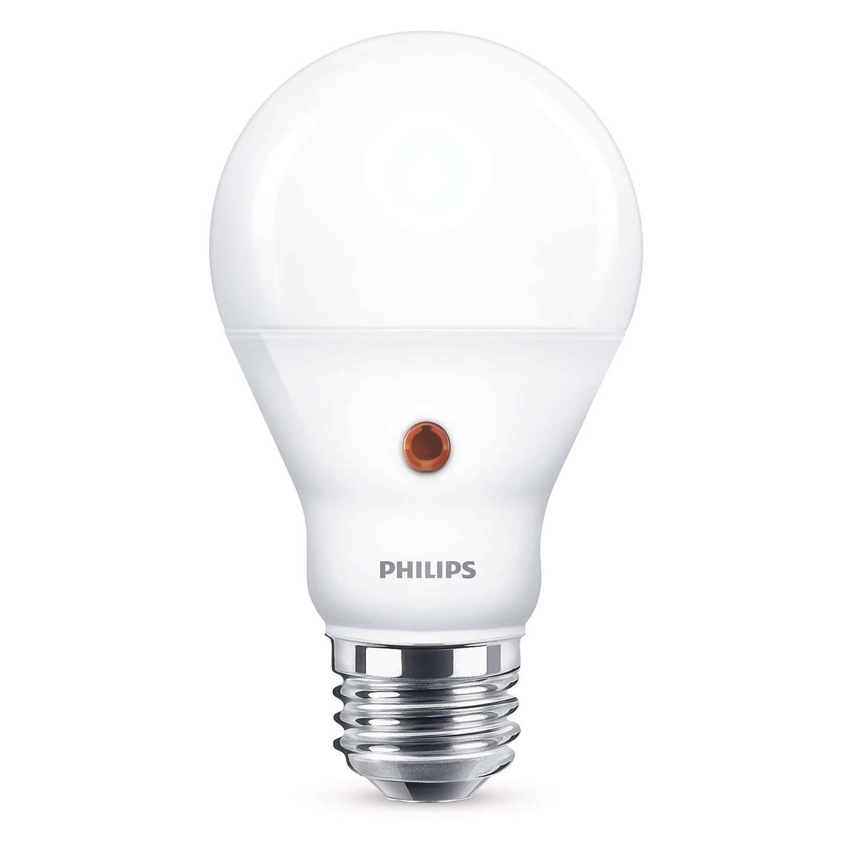 Philips LED Licht/Donker Sensor E27 6.5-60W E27 4000K 806lm