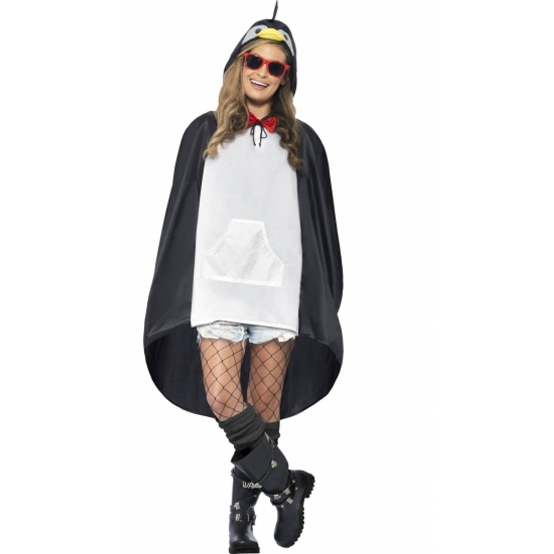 Korting Party regenponcho pinguin