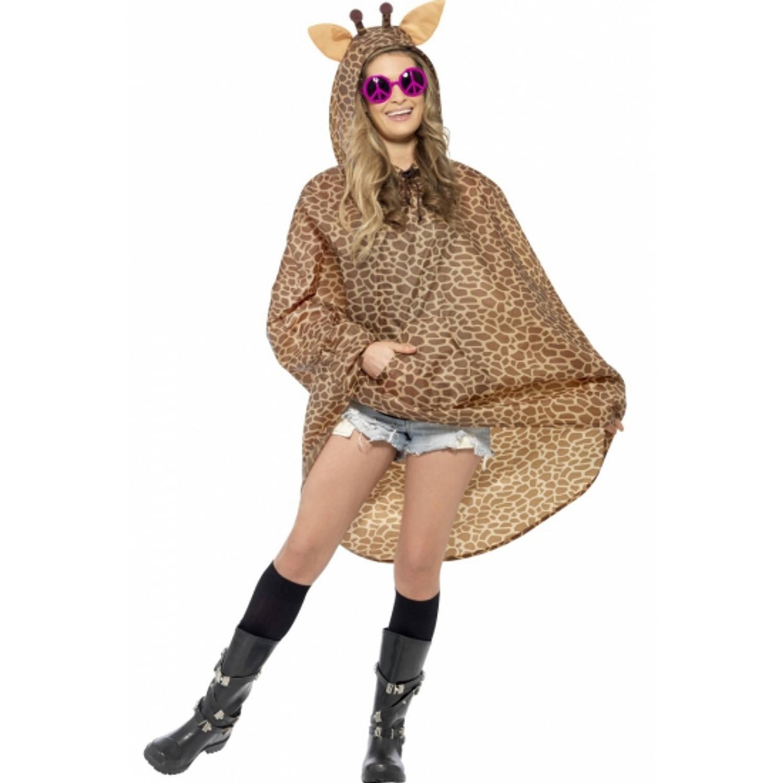 Korting Party regenponcho giraffe