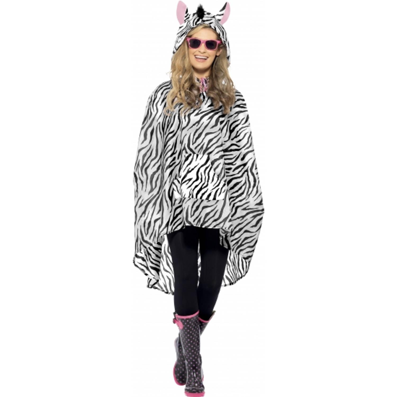 Korting Party regenponcho zebra
