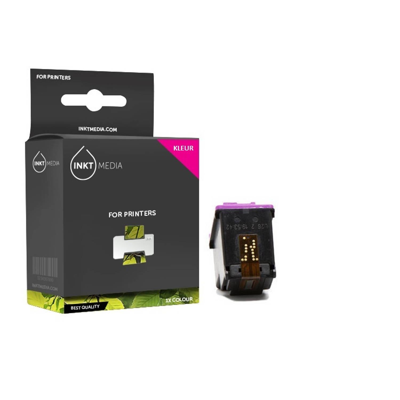 Inktmedia® - Inktcartridge - Alternatief voor de Hp 901XL (CC656AE) inktcartridge kleur 1x