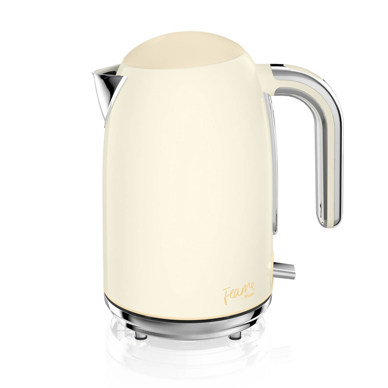 Fearne By Swan 1.7 Liter Retro Waterkoker Pale Honey