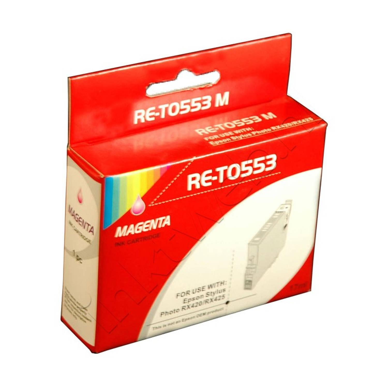 Korting Huismerk Epson T0553 Magenta Cartridge