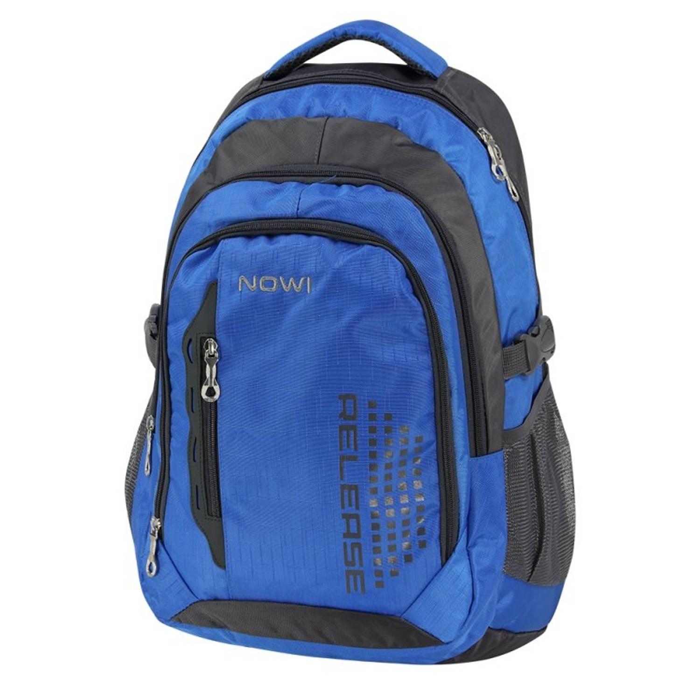 Afbeelding van Nowi Marini - laptop rugzak - blauw - 50 cm - geschikt voor laptop 17.3 inch