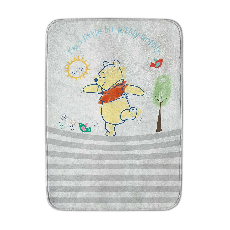House of Kids speelkleed Winnie the Pooh 70 x 95 cm ivoorwit