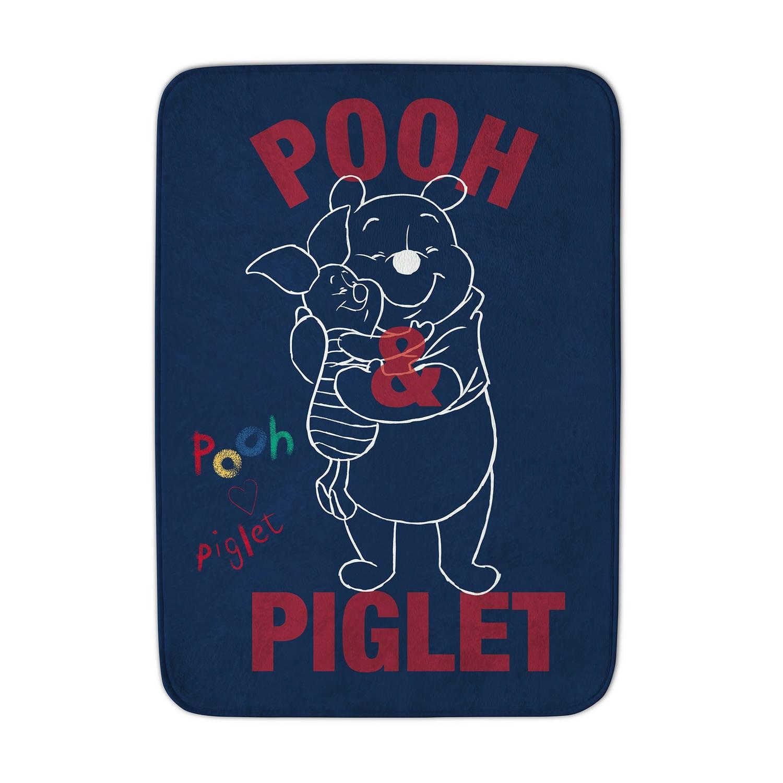 Korting Achoka Vloerkleed Winnie The Pooh 70 X 95 Cm Blauw