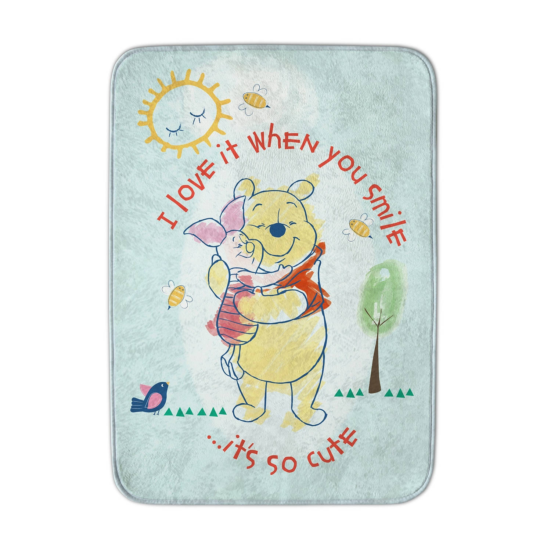 House of Kids speelkleed Winnie the Pooh blauw 70 x 95 cm