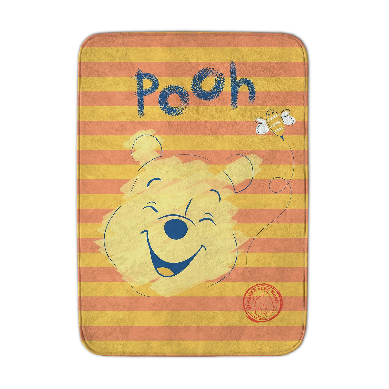 Korting Achoka Vloerkleed Winnie The Pooh 70 X 95 Cm Geel oranje