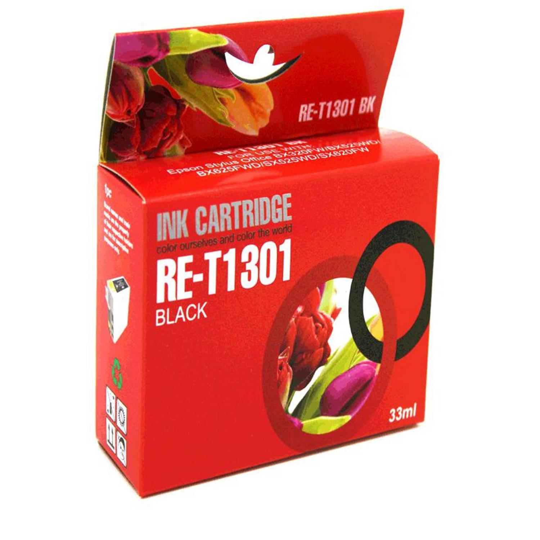 Korting Huismerk Epson T1301 Zwart Cartridge