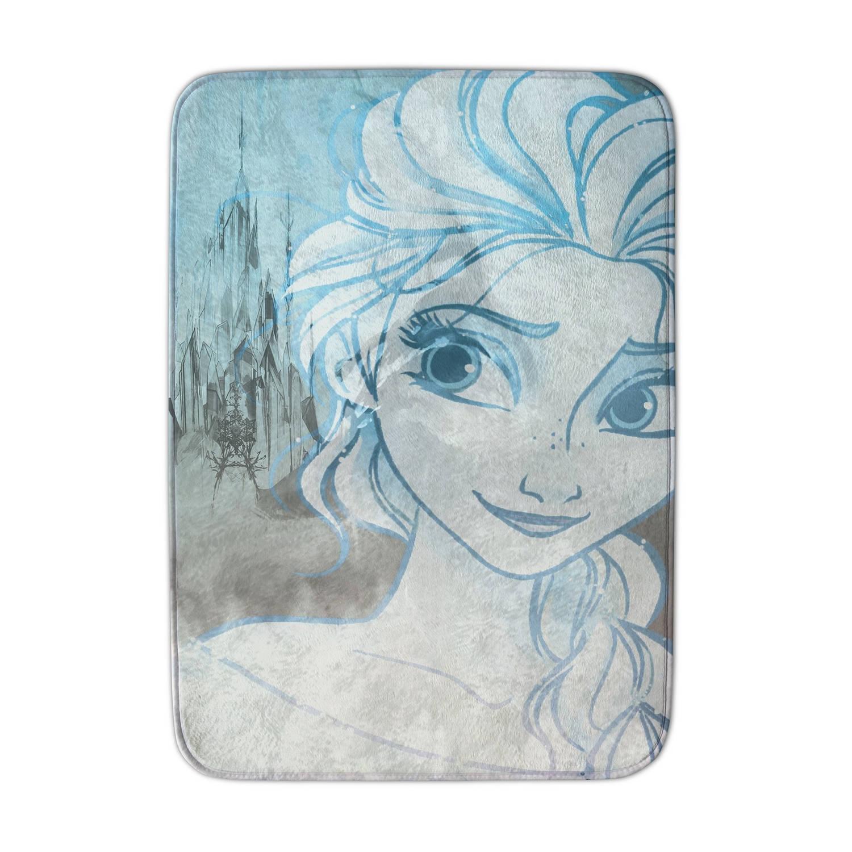 House of Kids speelkleed Frozen 70 x 95 cm ivoorwit/blauw