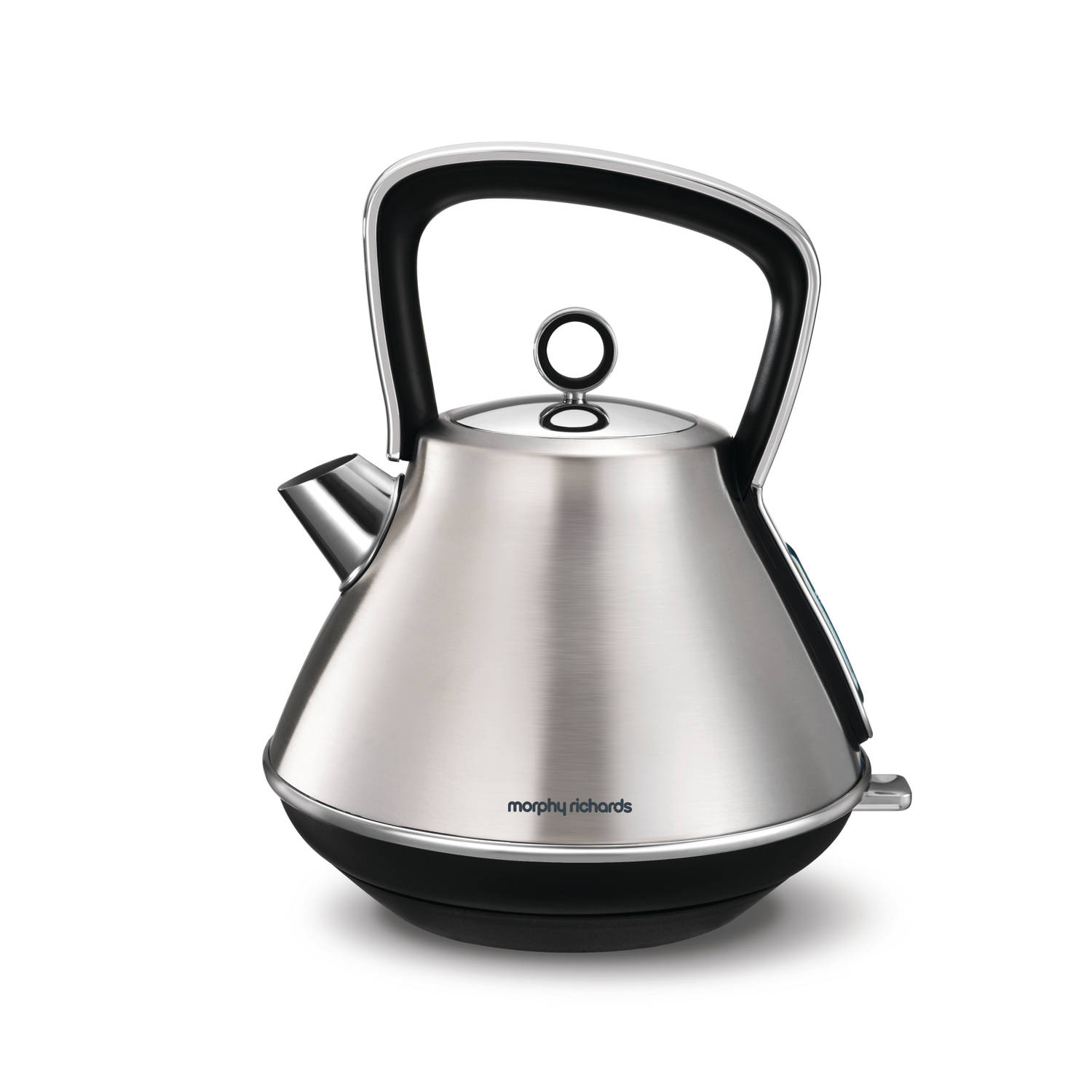 Morphy Richards waterkoker Evoke Special Edition (piramide-vorm) - RVS
