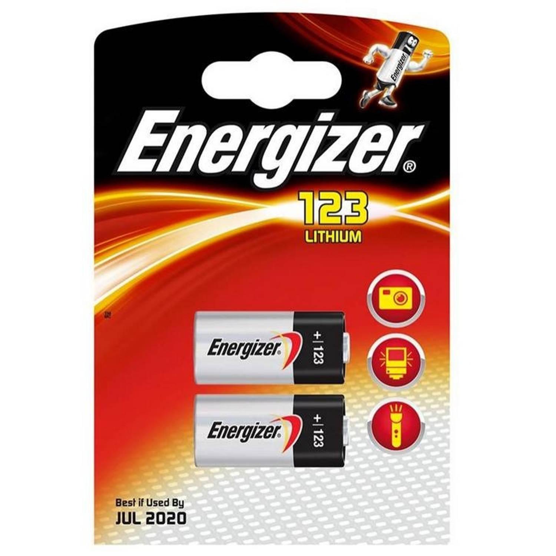 Energizer staafbatterij e2 Photo 123 Lithium 3V 2 stuks