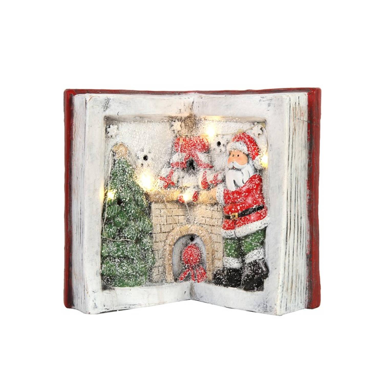 Countryfield Kerstdecoratie boek LED Kerstartikelen