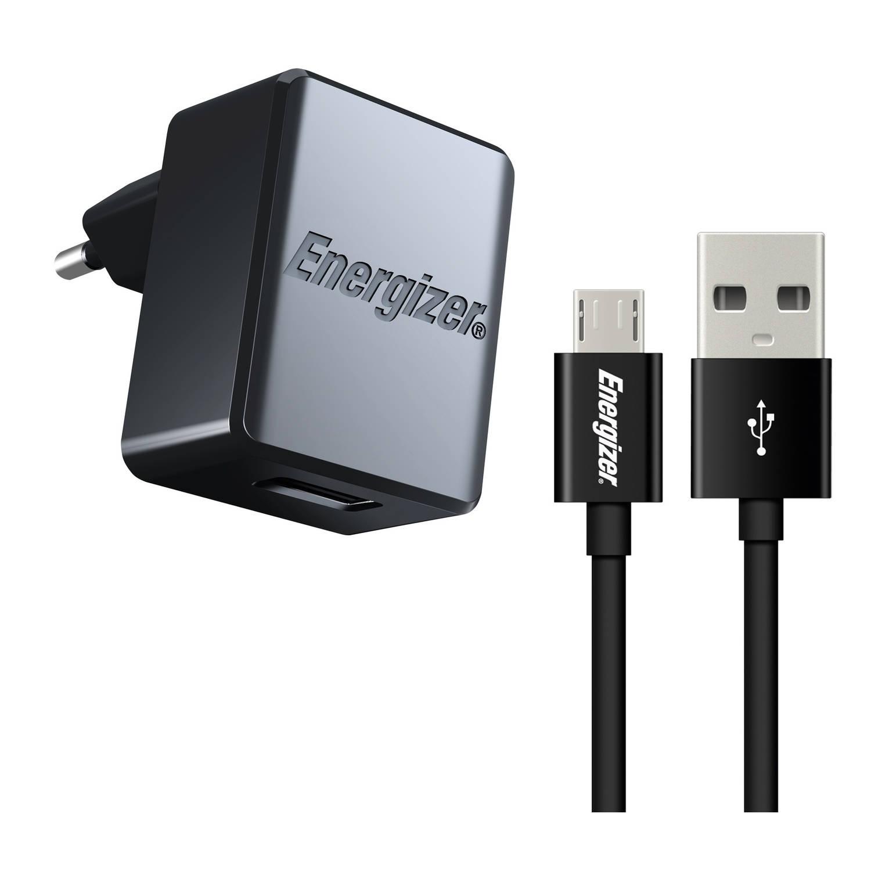 Energizer universele USB-oplader 1A met micro USB-kabel