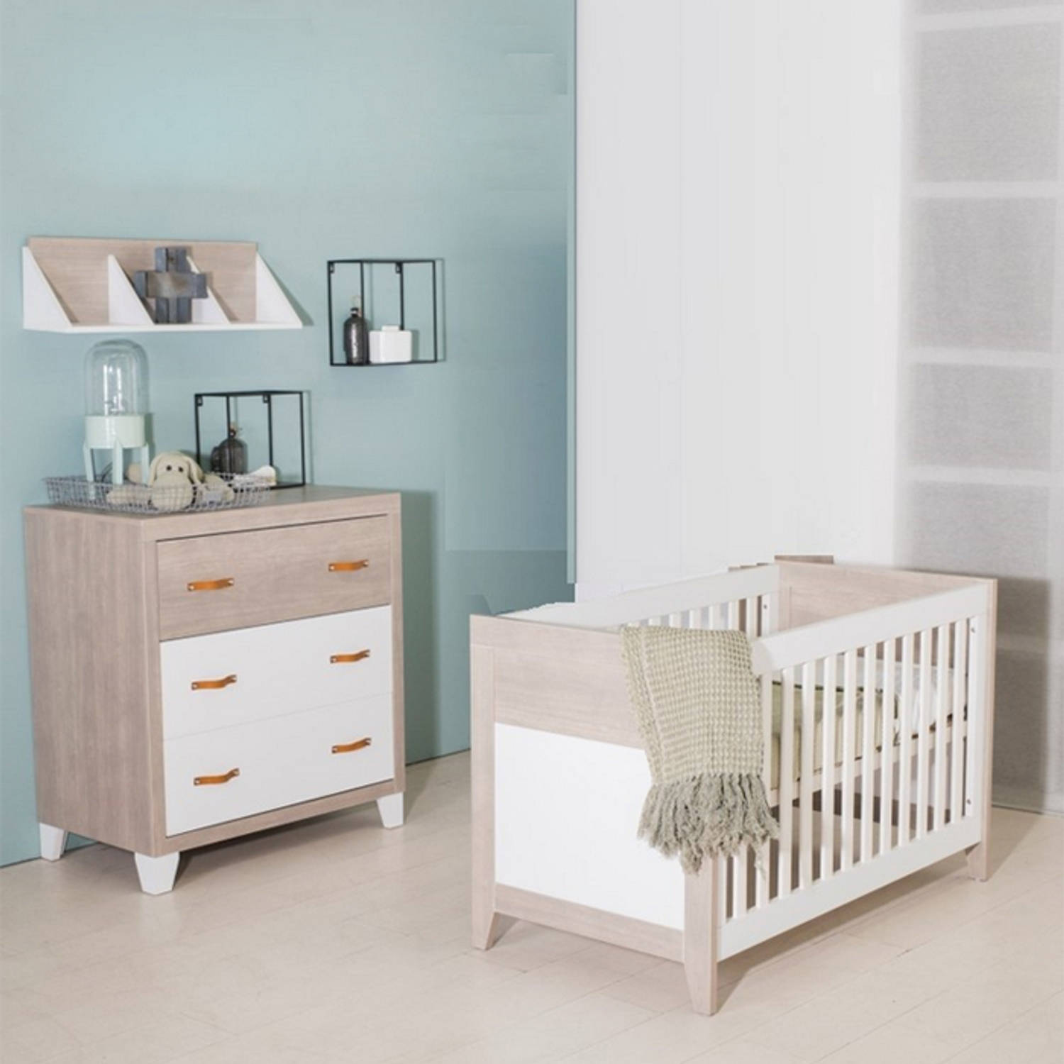 Bebies First Babykamer Boston 2-delig