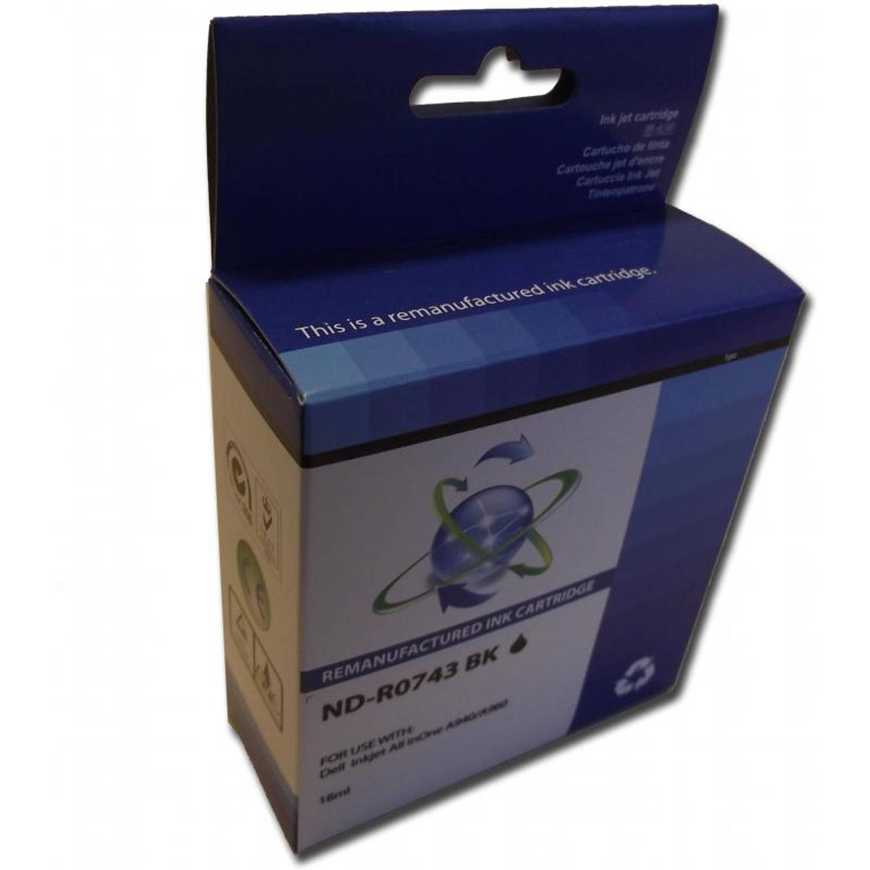 Huismerk Dell 7Y743 zwart Cartridge