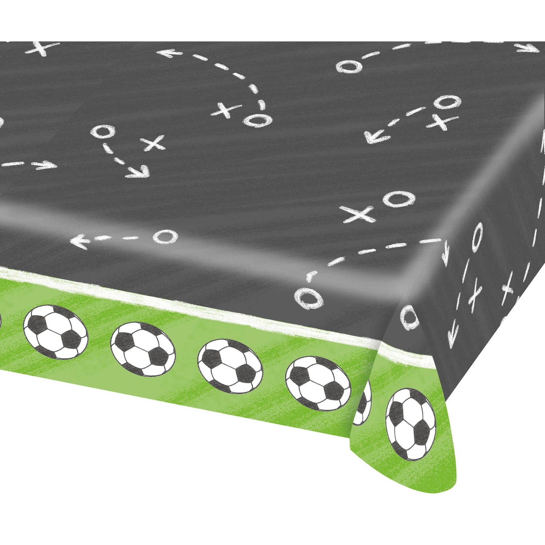 Afbeelding van Amscan tafelkleed voetbalveld 120 x 180 cm