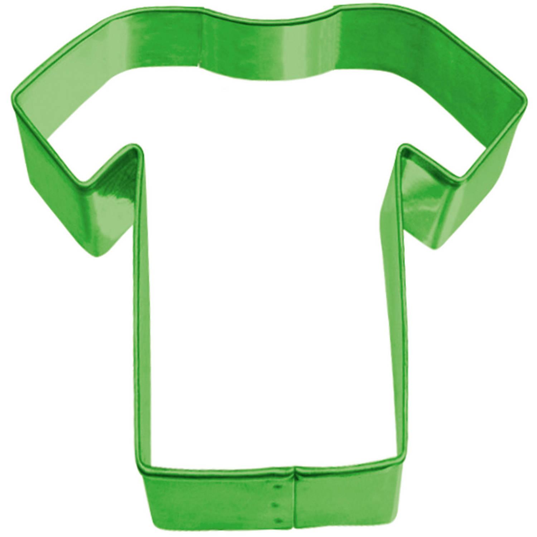 Korting Amscan Uitsteekvorm Voetbalshirt Junior 5,7 X 6,1 Cm Groen