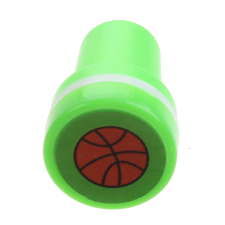 Korting Lg imports Stempel Basketbal Groen wit