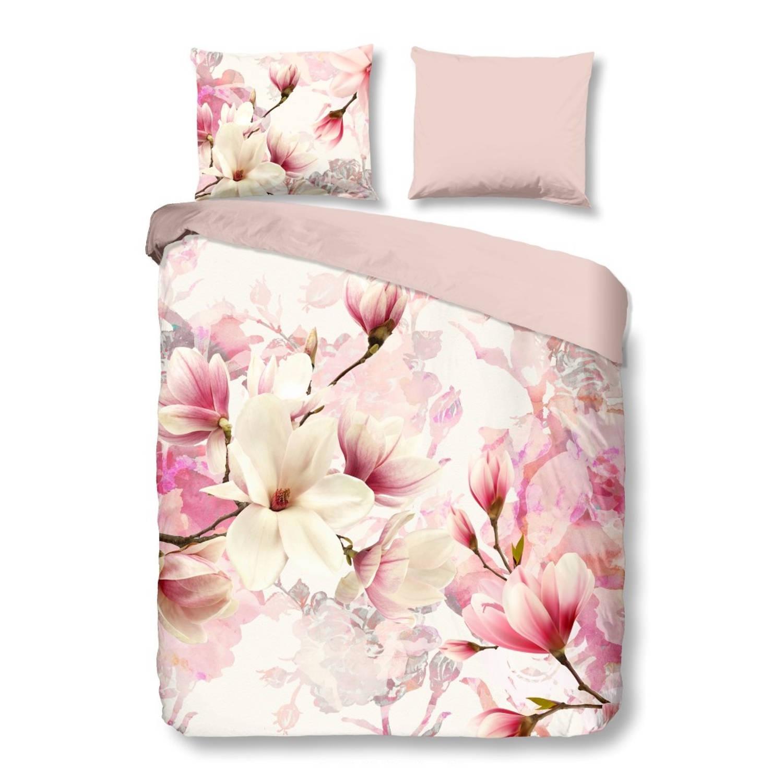 Good Morning dekbedovertrek roze 155 x 220 cm